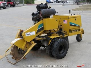 Vermeer SC252 16 Stump Grinder Kohler Engine Self Propelled bidadoo