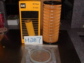 Cat Caterpillar Diesel Engine Motor Oil Filters 1R 0659 with Gasket