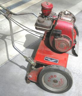 1950s TORO Sportlawn LAWN MOWER w Briggs & Stratton Engine Model 6S