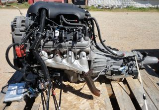 2003 CHEVROLET 4 8 LR4 VORTEC ENGINE AND 2WD 4L60E TRANSMISSION LSX