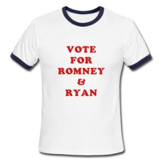 Vote For Romney & Ryan T Shirt 10930128