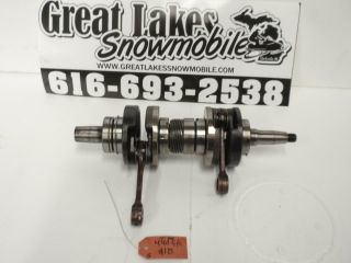 Polaris Indy 440 F C Twin Snowmobile Fuji Engine Crankshaft Sport