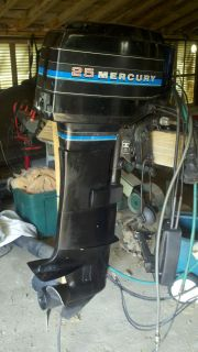 25 HP Mercury Outboard Motor