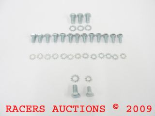 SBC Small Block Chevy Oil Pan Bolts Bolt Kit 6