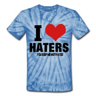 LOVE HATERS YOU KEEP ME MOTIVATED T Shirt ID