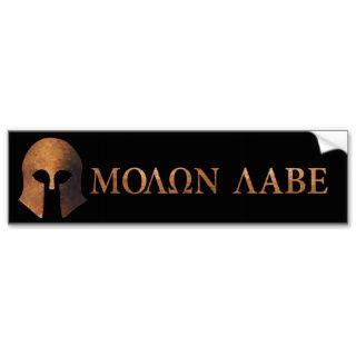 Molon Labe (gekommen und erhalten Sie es) Auto Sticker
