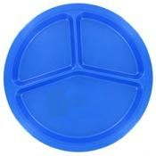 Plastics PP144D 10 1/2 Divided Picnic Plate, Assorted