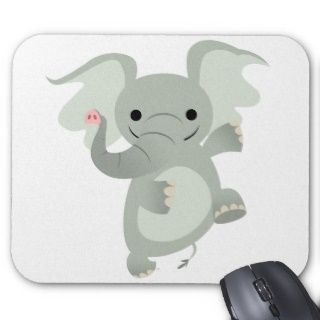 Tanzen Cartoon Elefant Mousepad
