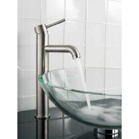Pegasus FTV 100 01 26 One Handle Vessel Bathroom Faucet, Polished Chrome