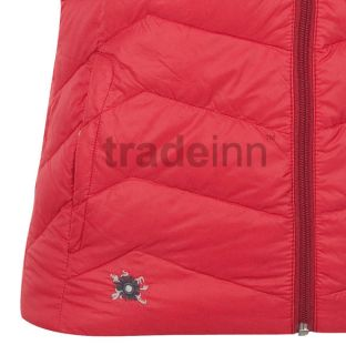 Salewa Soa Down Vest Red Woman. Vêtements femme Vestes down,